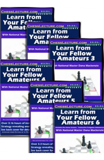 Learn From Your Fellow Amateurs - Chess Lecture - 6 DVD Set