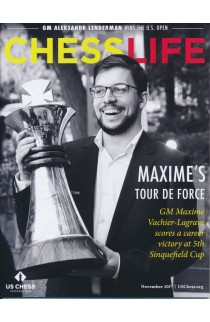 CLEARANCE - Chess Life Magazine - November 2017 Issue