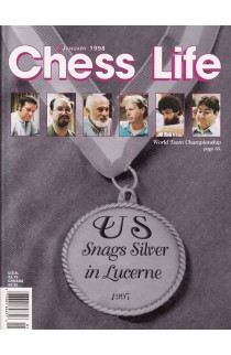 CLEARANCE - Chess Life Magazine - January 1998 Issue