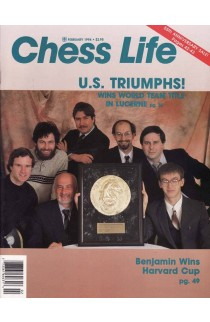 CLEARANCE - Chess Life Magazine - February 1994 Issue