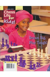 CLEARANCE - Chess Life For Kids Magazine - December 2015 Issue