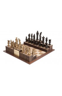 """""""Approach the Bench"""" Legal Chess Set"""