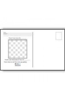 Correspondence Chess Move Mail Card - 50 Pack
