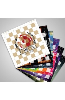 Custom Printed Full Color Vinyl Chess Board