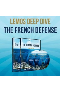 E-DVD - Lemos Deep Dive - #15 - The French Defense - GM Damian Lemos - Over 7 Hours of Content!