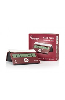 DGT Easy Timer Digital Chess Clock - Crimson Cruz