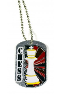 Chess Dog Tag
