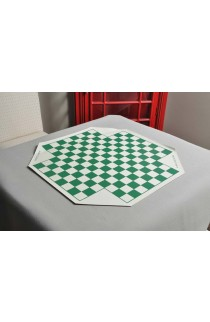 """4 Player Vinyl Chess Board - 1.56"""" Squares"""