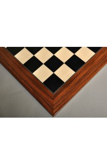 Black Anegre and Bird's Eye Maple Traditional Chess Board