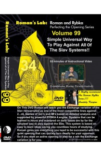 E-DVD ROMAN'S LAB - VOLUME 99 - virtual Universal Way To Play Against All the Slav Systems