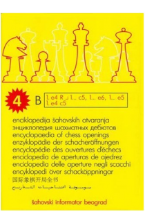 Encyclopedia of Chess Openings - BOOK B