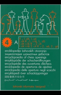 Encyclopedia of Chess Openings - BOOK A