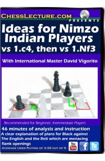 Ideas for Nimzo Indian Players - Chess Lecture - Volume 76