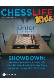 Chess Life For Kids Magazine - October 2019 Issue