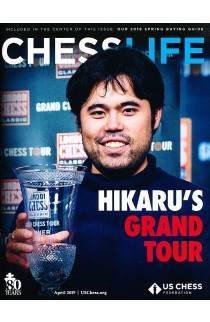 CLEARANCE - Chess Life Magazine - April 2019 Issue