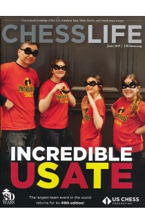 CLEARANCE - Chess Life Magazine - June 2019 Issue