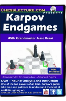 Karpov Endgames - Chess Lecture - Volume 96