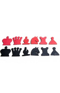 """Extra Pieces for 28"""" Magnetic-Style Chess Demonstration Set"""