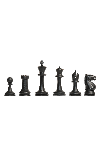 "The Competition Series Plastic Chess Pieces - 3.75"" King Height"