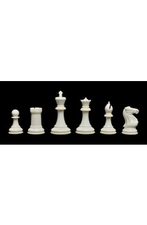 "The Fischer Series Plastic Chess Pieces - 3.75"" King"