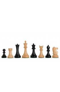 """The Capablanca Chess Edition - Reykjavik II Series Chess Pieces - 3.75"""" King"""