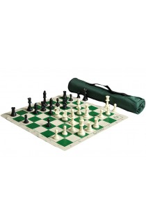 US Chess Quiver Tournament Chess Set Combination Triple Weighted