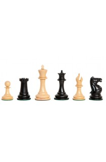 """The Camaratta Collection - The 1852 Paulsen Series Chess Pieces - 4.4"""" King"""