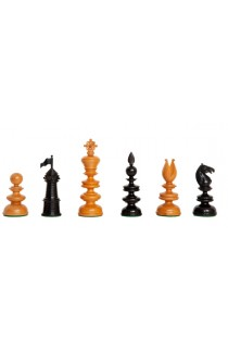 "The 1820 Thomas Lund English Chess Pieces - The Camaratta Collection - 4.4"" King"