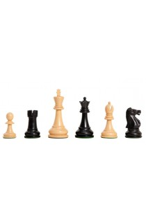 "The Camaratta Collection - The Improved Fischer Spassky Series Chess Pieces - 3.75"" King"