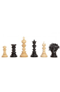 "The Forever Collection - The Savano Series Luxury Wood Chess Pieces - 4.4"" King"