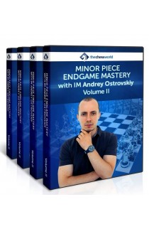 E-DVD Minor Piece Endgame Mastery II with IM Andrey Ostrovskiy