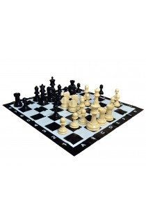 "8"" Plastic Garden Chess Set"