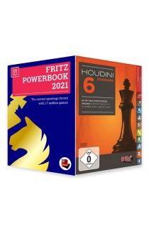 Houdini 6 Chess Playing Software - STANDARD EDITION with Powerbook 2021