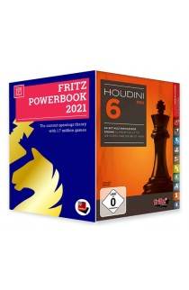 Houdini 6 Chess Playing Software - PROFESSIONAL EDITION with Powerbook 2021