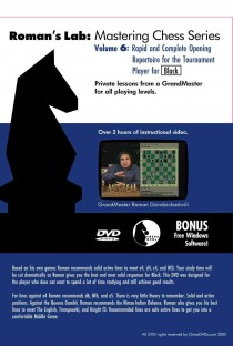 ROMAN'S LAB - VOLUME 6 - Rapid and Complete Opening Repertoire for Black