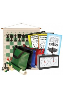 Scholastic Chess Club Starter Kit - For 20 Members - With Quartz Chess Clocks