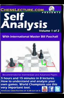 Self Analysis - 2 DVDs - Chess Lecture - Volume 138