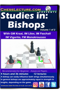 Studies in: Bishops - Chess Lecture - Volume 169 - 2 DVDs