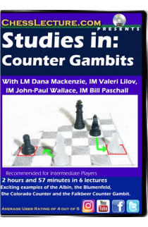 Studies in Counter Gambits - Chess Lecture - Volume 184