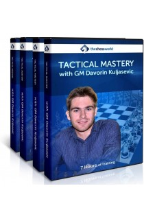 E-DVD Tactical Mastery with GM Davorin Kuljasevic