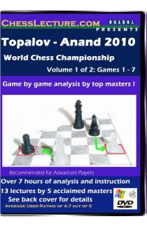 Topalov - Anand 2010 World Chess Championship V1 front