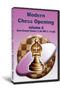 DOWNLOAD - Modern Chess Opening - Semi-Closed Games (1. d4 Nf6 2. c4 g6) - VOLUME 4