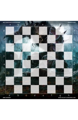 Worgen - Full Color Vinyl Chess Board