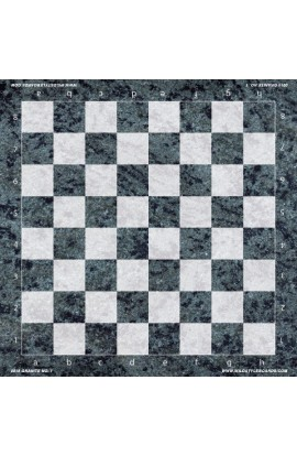 Granite No. 1 - Full Color Vinyl Chess Board