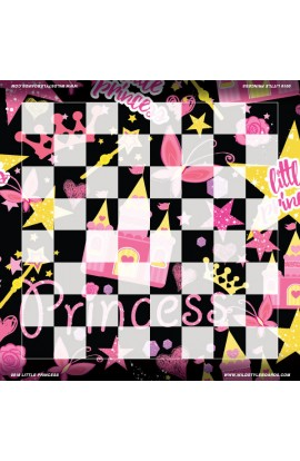 Little Princess - Full Color Vinyl Chess Board
