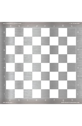 Metal No. 1 - Full Color Vinyl Chess Board