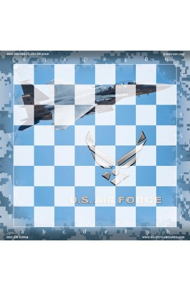 United States Air Force  - Full Color Vinyl Chess Board