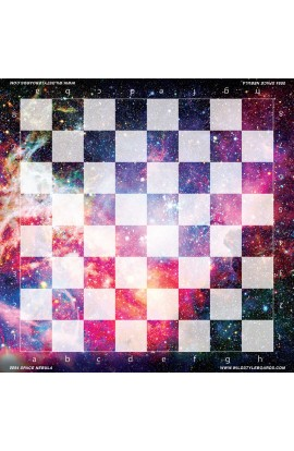 Space Nebula - Full Color Vinyl Chess Board
