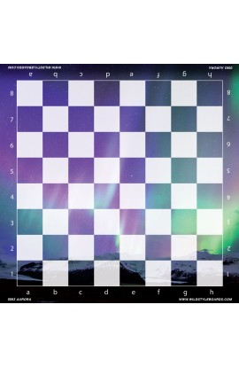 Aurora - Full Color Vinyl Chess Board