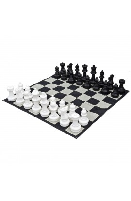 "16"" Giant Chess Set - Includes Pieces and Board"